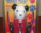 Retro RCA AM/FM Headset Radio