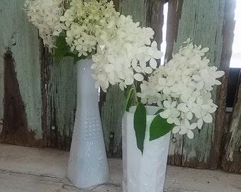 Set Of Two ~ Vintage Vases