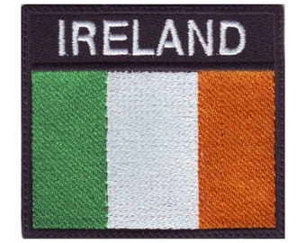 Ireland Badge Flag Embroidered  Patch