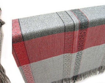 Alpaca and Lambswool Throw Blanket - Our Origin Throw is an All Season, Natural with No Synthetics