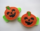 Happy Halloween Hair Clips