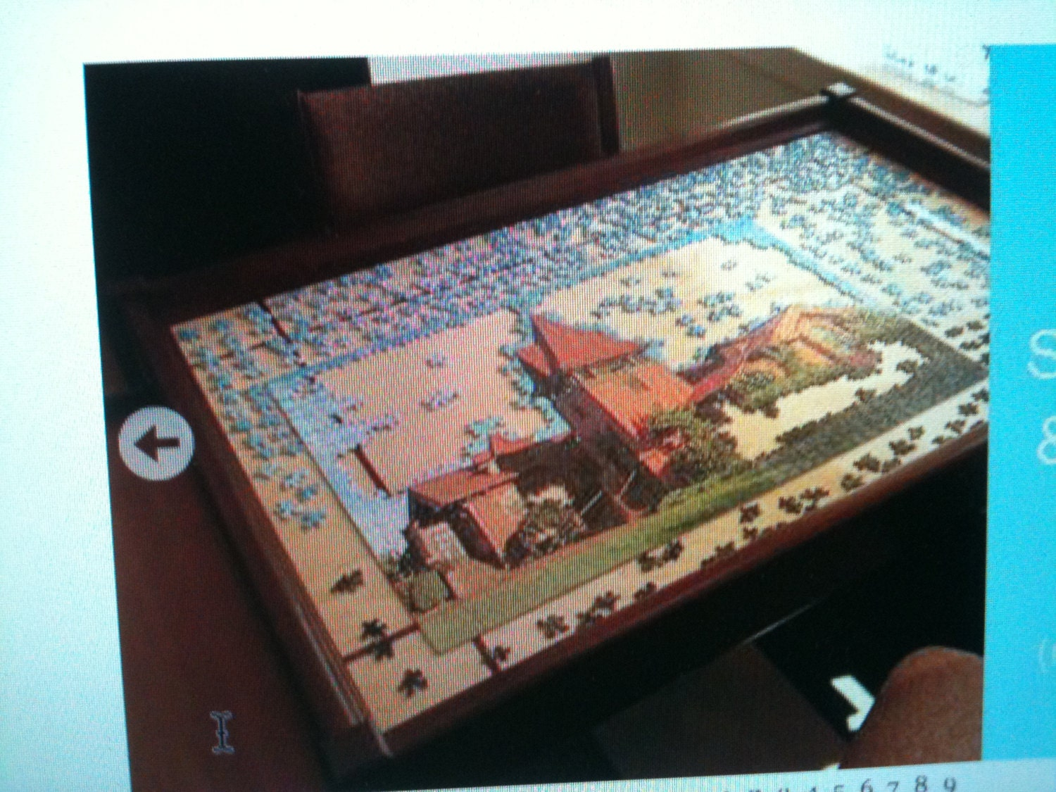 Custom Jigsaw Puzzle Table By Woodclassics On Etsy