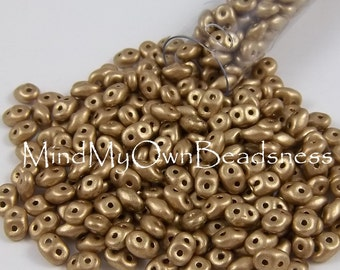 2-hole Seed Bead - Superduo - Aztec Gold 01710 x 23grams