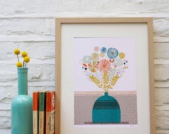Flora and Fauna Print