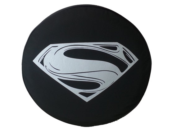 Superman jeep spare tire cover