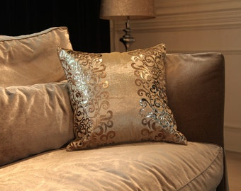 18 x 18 Inches Silver Decorative Pillows