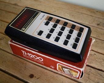 Vintage Texas Instruments calculator - TI 1200