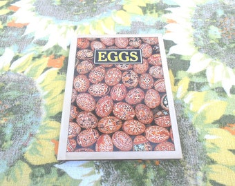 Sale** Vintage book Eggs By Linda Sonntag....Great alternative gift for Easter