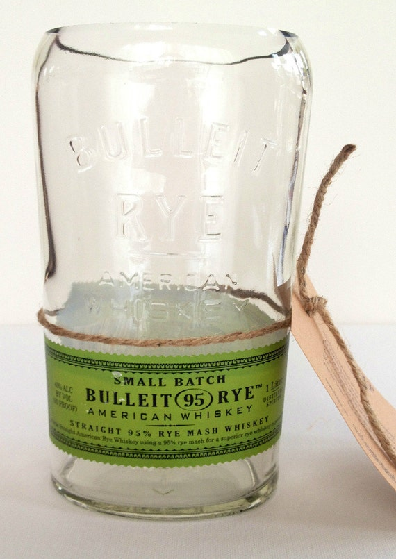 bulleit rye vase whiskey vase rye whiskey bottle vase