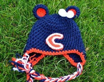 Crochet Pattern - Bear Down and Bundle Up Hat