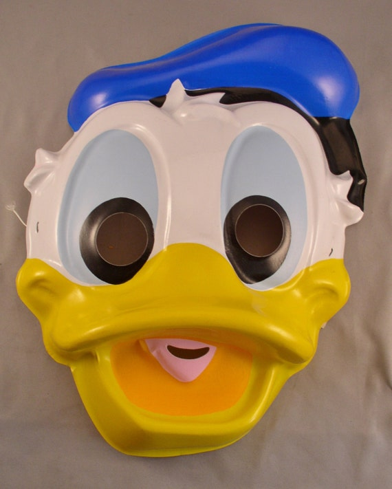 Vintage Donald Duck Mask Ben Cooper 1989