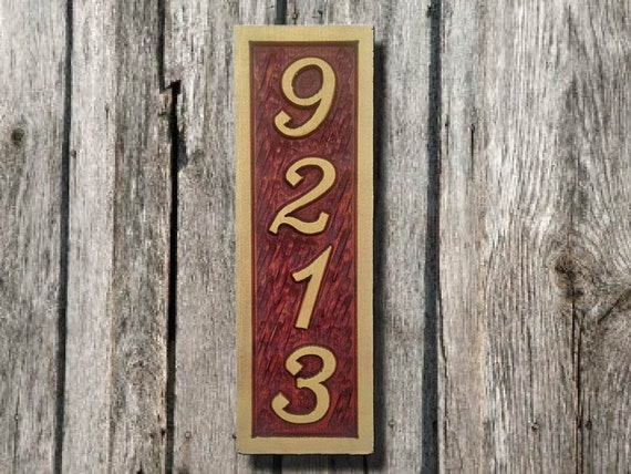 Design Your Own House Plaque Items Similar To Vertical