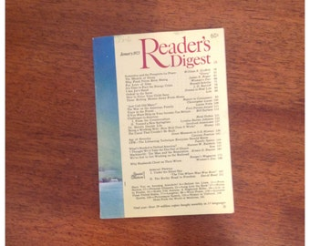 Reader's Digest January 1973