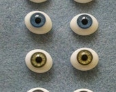 glass paperweight doll eyes for dollmaking or jewelry