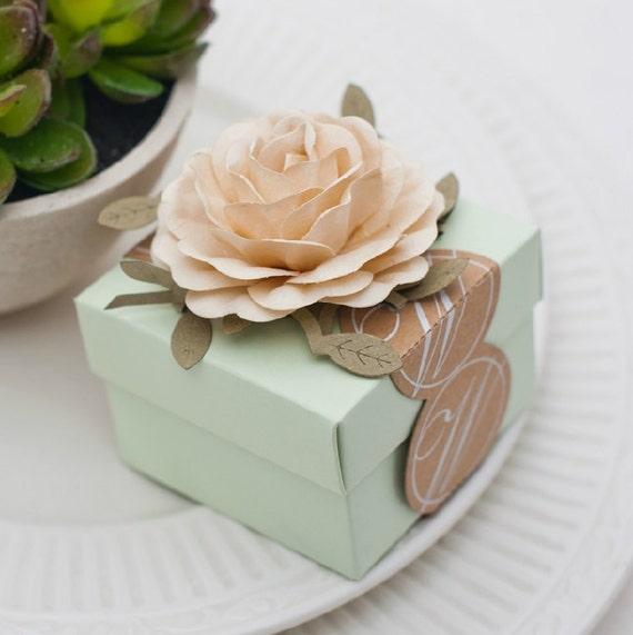 Wedding Favor Gift Ideas: Etsy Friday Find: Designer Wedding Favor Boxes For Your
