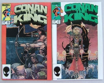 Conan the King issues 26 and 27