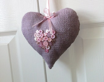 Heart Decoration Knitting Pattern : Popular items for knitted hearts on Etsy