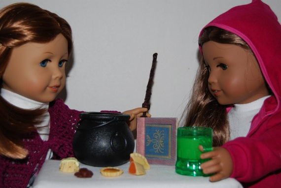 Harry Potter Inspired American Girl Doll Food, Accessories - Wizard ...