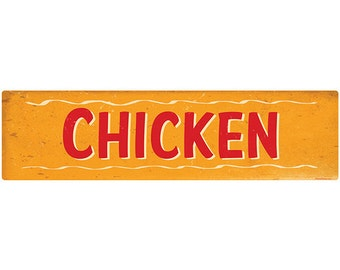 Chicken Southern BBQ Barbecue Wall Decal #44130