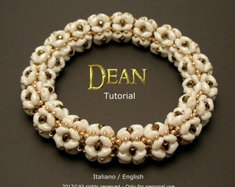 Tutorial Dean Bracelet - beading pattern
