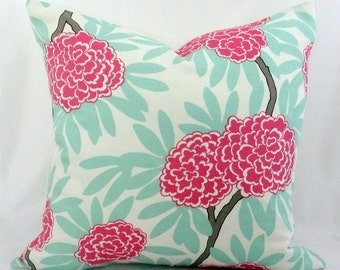 CW Wilson Floral Pillow Cover
