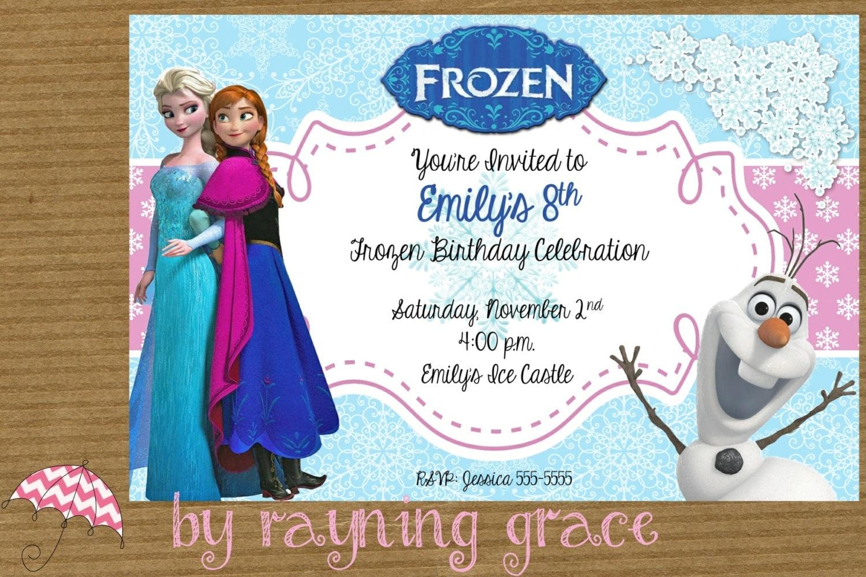 Items Similar To Disney Frozen Princess Printable Birthday Frozen Princess Pictures Printable