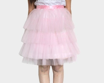 Light pink Tulle Skirt Manhattan (more colors available)