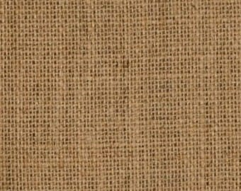 """Natural Sanitized Burlap Fabric - 60"""" Wide, 11oz, 35 Yard Roll"""