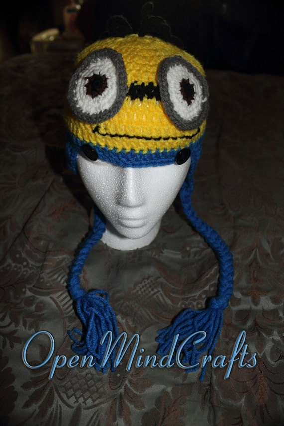 Despicable Me Minion Crocheted Baby Outfit or by ...