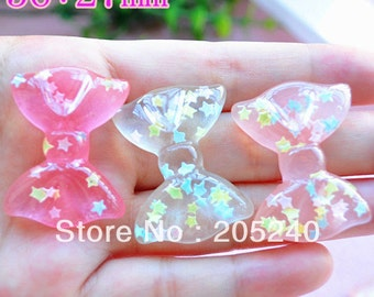 New Cute bow cabochons