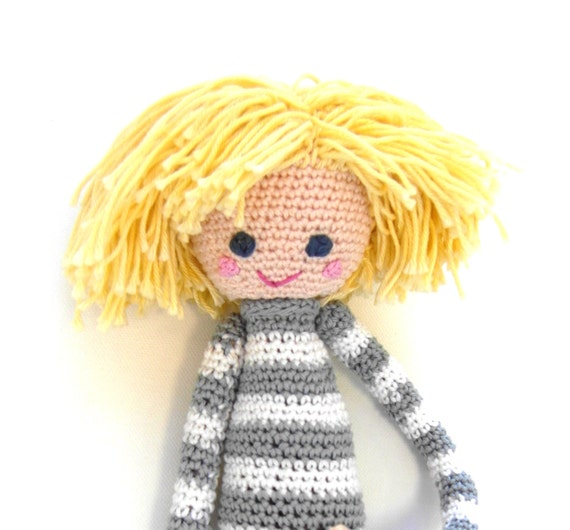 Crochet Doll Pattern Cute : Crochet Doll Pattern Lars Cute Amigurumi Boy