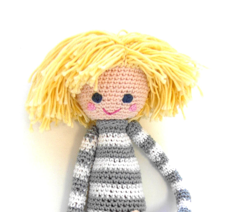 Crochet Doll Pattern Lars Cute Amigurumi Boy
