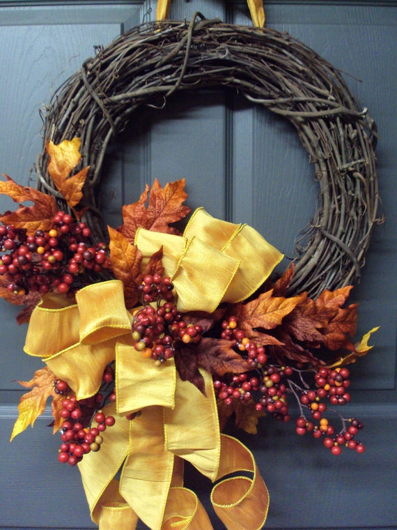Seven Simple Fall Wreaths My Craftily Ever After