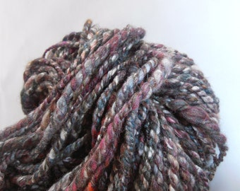 Mrs Tweedy (2) - Hand-spun Tweed Yarn