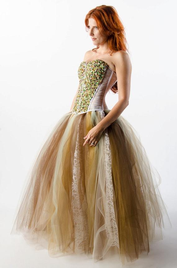 Custom swarovski crystal corset dress wedding prom evening for Dream prom com wedding dresses