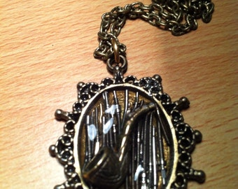 STEAMPUNK ( The Pipe )  3D Pendant