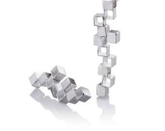 Minimalist Jewelry - Minimalist Earrings -  Minimalist Silver Jewelry