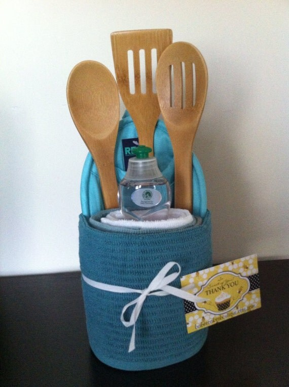 Items similar to Kitchen Towel Cake Engagement Gift
