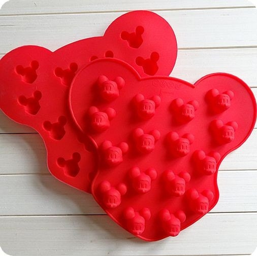 16 Mickey Mouse Face Cake Mould Chocolate Mold Flexible