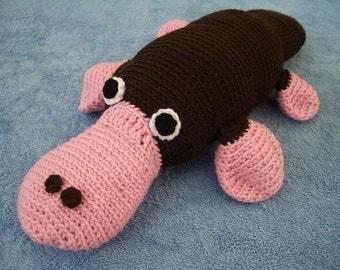 Amigurumi Crochet Pattern - Platypus  Pattern No.06