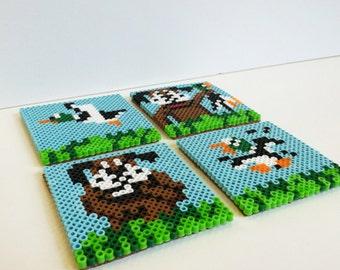 Duck Hunt Coasters