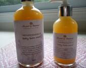 Honeysuckle Baby Bath Wash 8oz - 100% Natural, Pure & Simple...