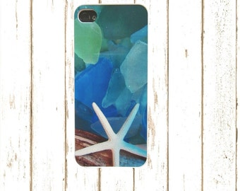 Seaglass Design iphoneCase for iphone 5/5S and iphone 4/4S, Iphone 6/6S, Aqua Phone Case, Aqua and Blue Phone case