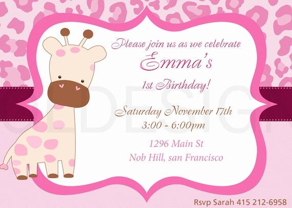 Invitación baby shower para niñas - Imagui