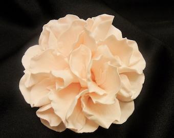 "Beautifully Vintage Sugar Flowers ~ Peony approx. 3"" ~ Gum Paste Flowers ~ Edible cake topper"