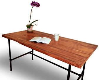 butcher block table | etsy