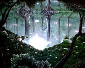 Phantom Forest - Fan Art Final Fantasy VI - poster poster - Mog