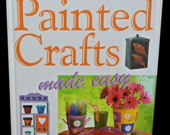 Painting book Painted Crafts Made Easy by Susan and Martin Penny Painting Crackle Glaze Marbling Gold Leaf