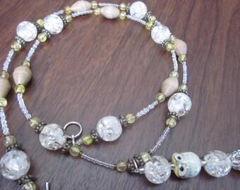 Long Owl Pendant Necklace