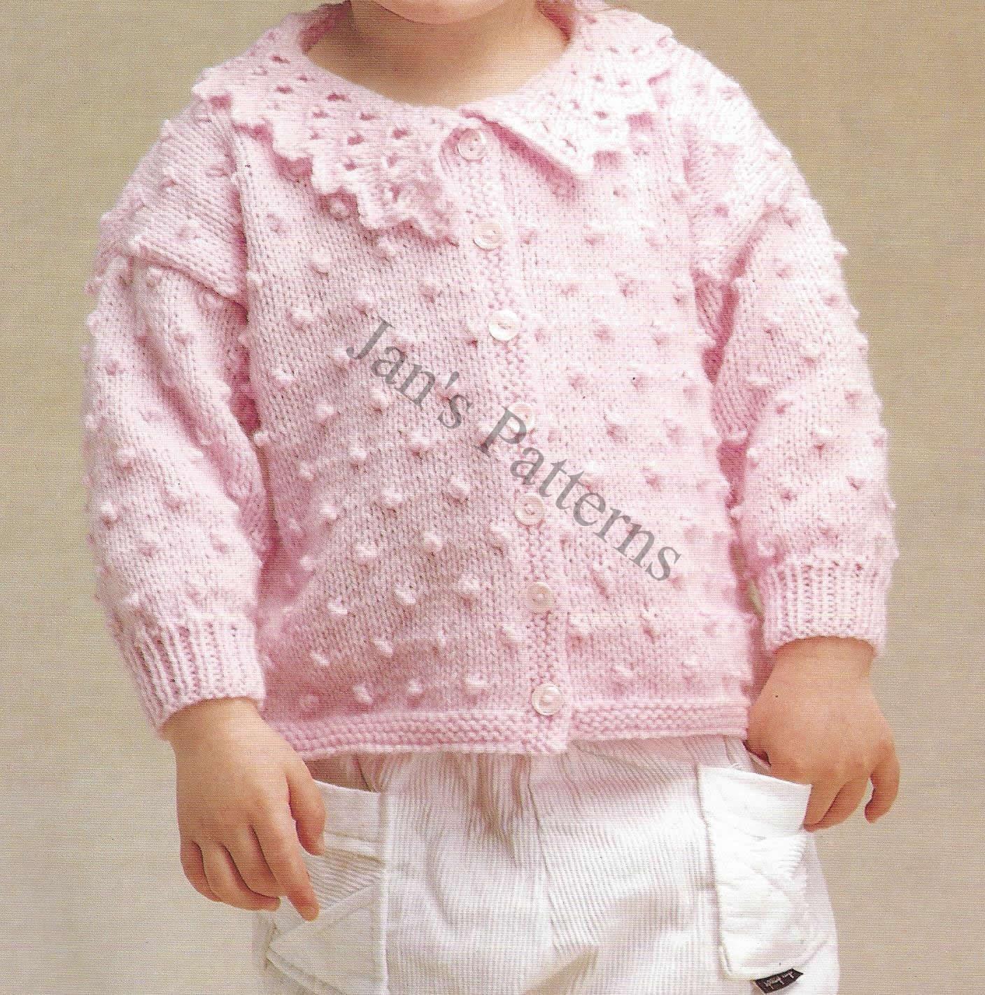 Knitting Pattern For Headbands : Childs Bobble Aran pattern Knitting by knittingpatterns4you